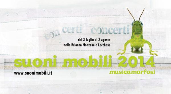 """""""Suoni Mobili"""" 11-12-13 luglio 2014 a Oreno"""