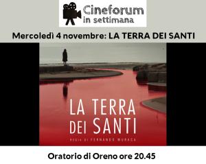 cineforum-in-settimana-oreno-la terra dei santi